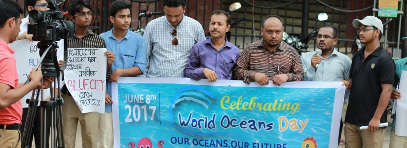 World Oceans Day Celebrated by Blue Green Foundation Bangladesh